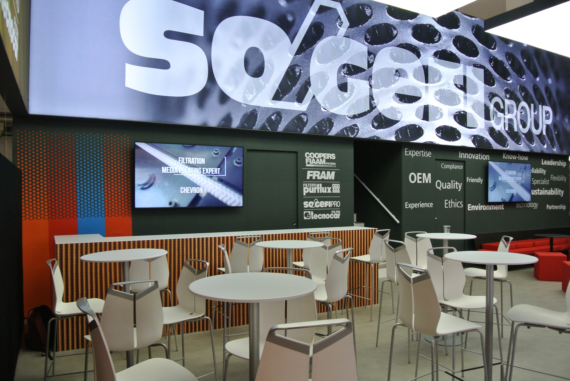 SOGEFI GROUP | Layout dello stand per Automechanika Frankfurt 2016