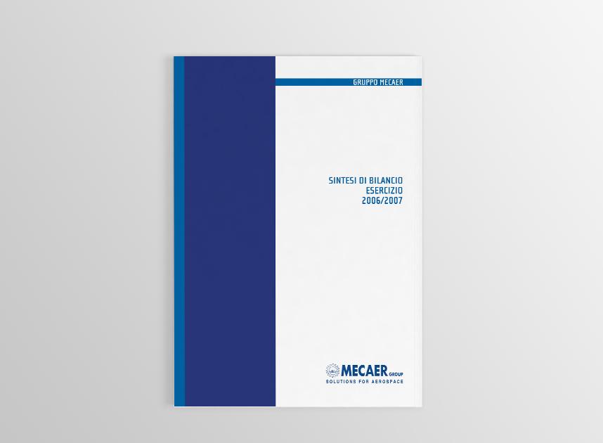 editoria aziendale bilancio mecaer briefing milano