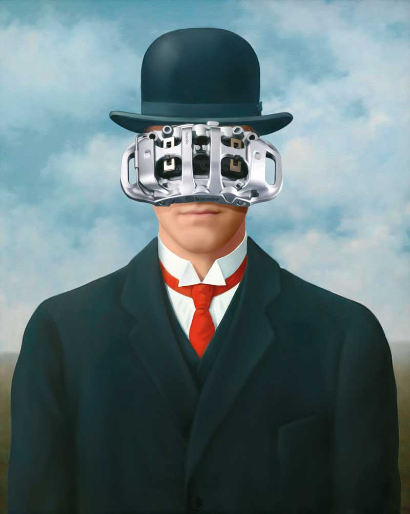 brembo the art of braking magritte