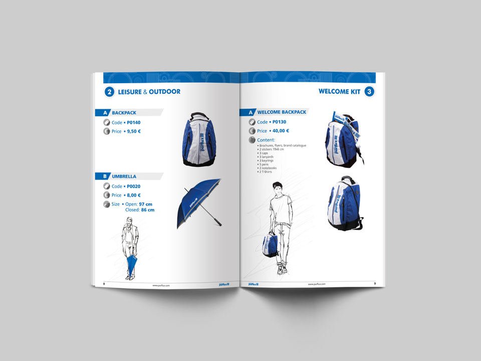 Catalogo merchandising Purflux