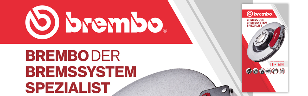 BREMBO | Pannello espositore showroom