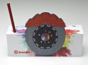 Brembo portapenne gadget front
