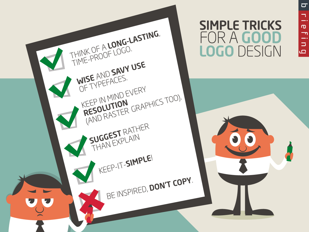 Good logo, bad design ideas…<br />Simple tips and tricks to avoid common mistakes