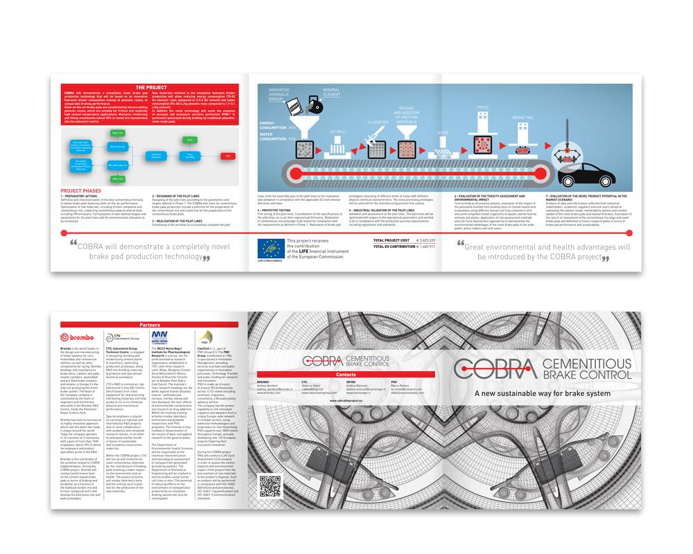 Progetto COBRA | Pieghevole