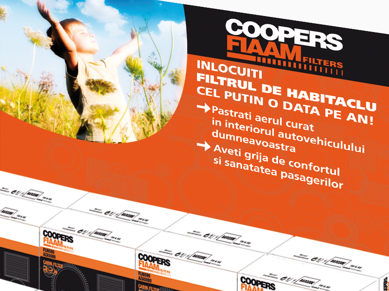 SOGEFI GROUP<br />Coopersfiamm Purflux Espositore da banco