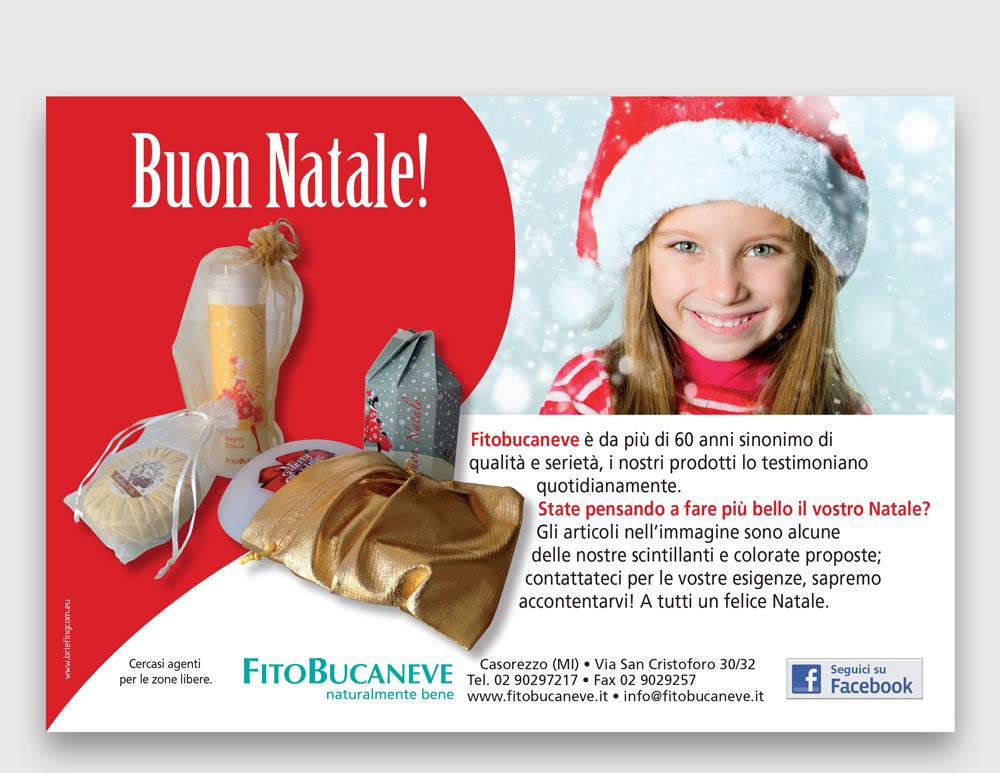 FITOBUCANEVE <br /> Varie linee prodotto | Pagine pubblicitarie natalizie