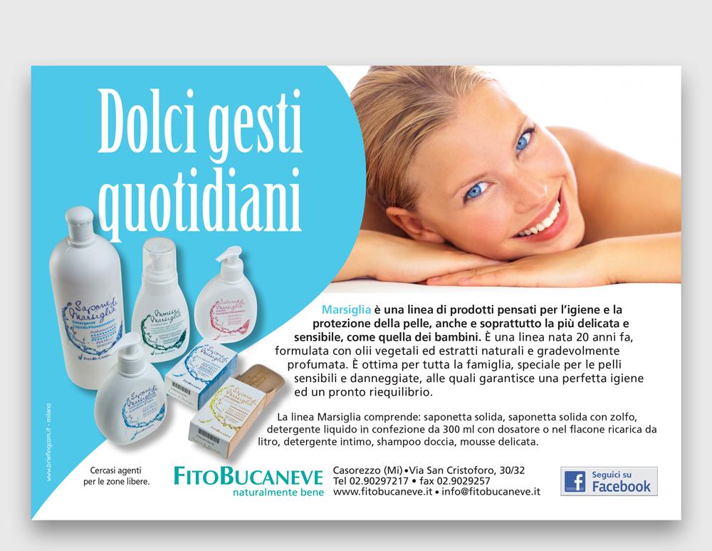FITOBUCANEVE <br /> Varie linee prodotto | Pagine pubblicitarie