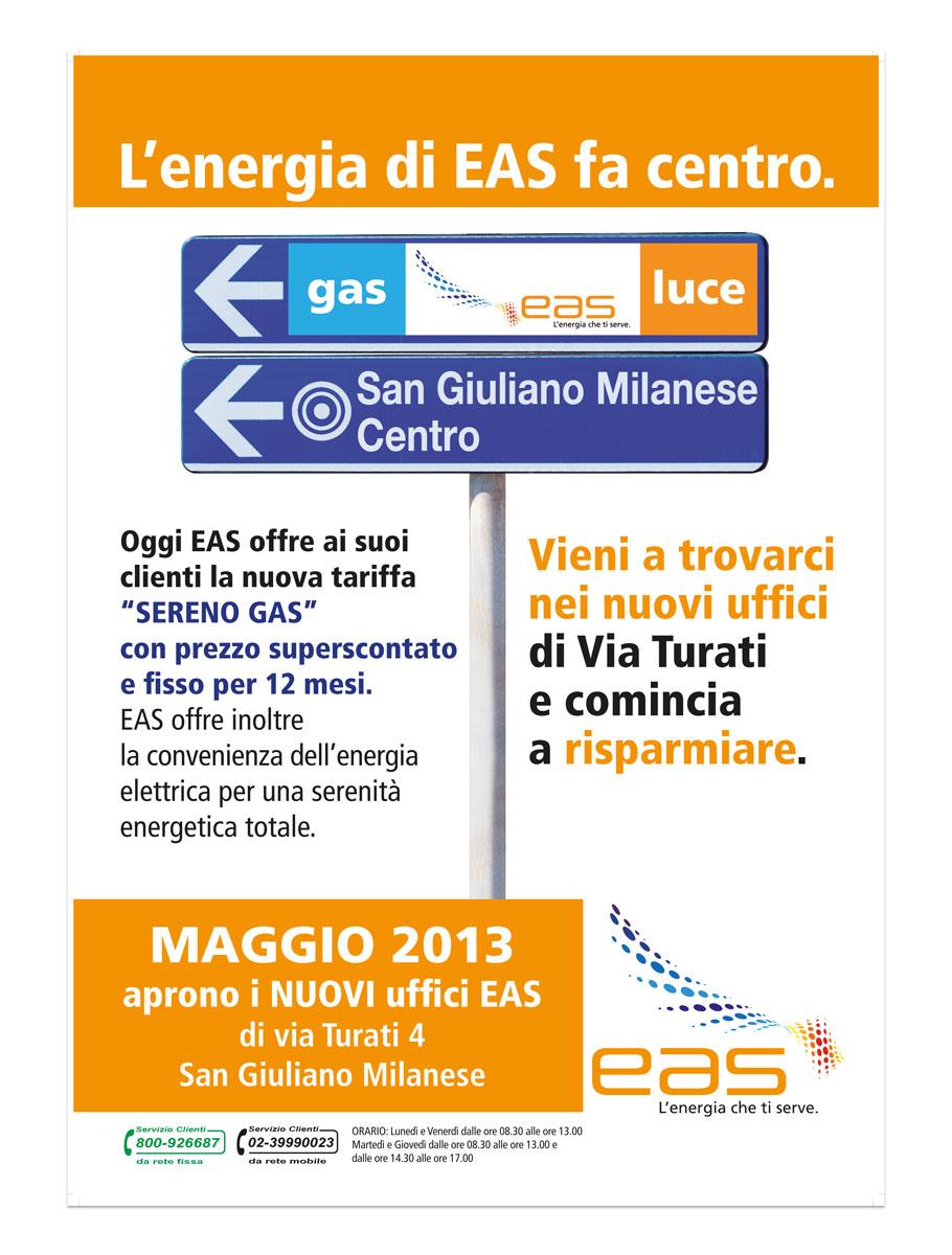 EAS | Comunicazione Nuovi uffici