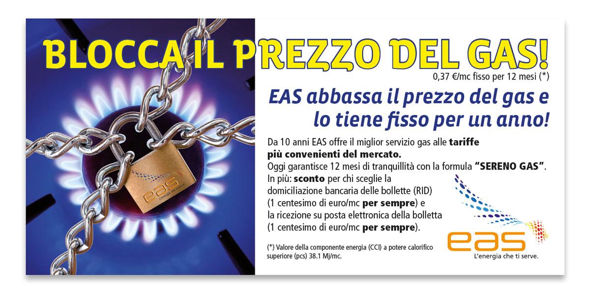 EAS | Pagina pubblicitaria prezzo fisso