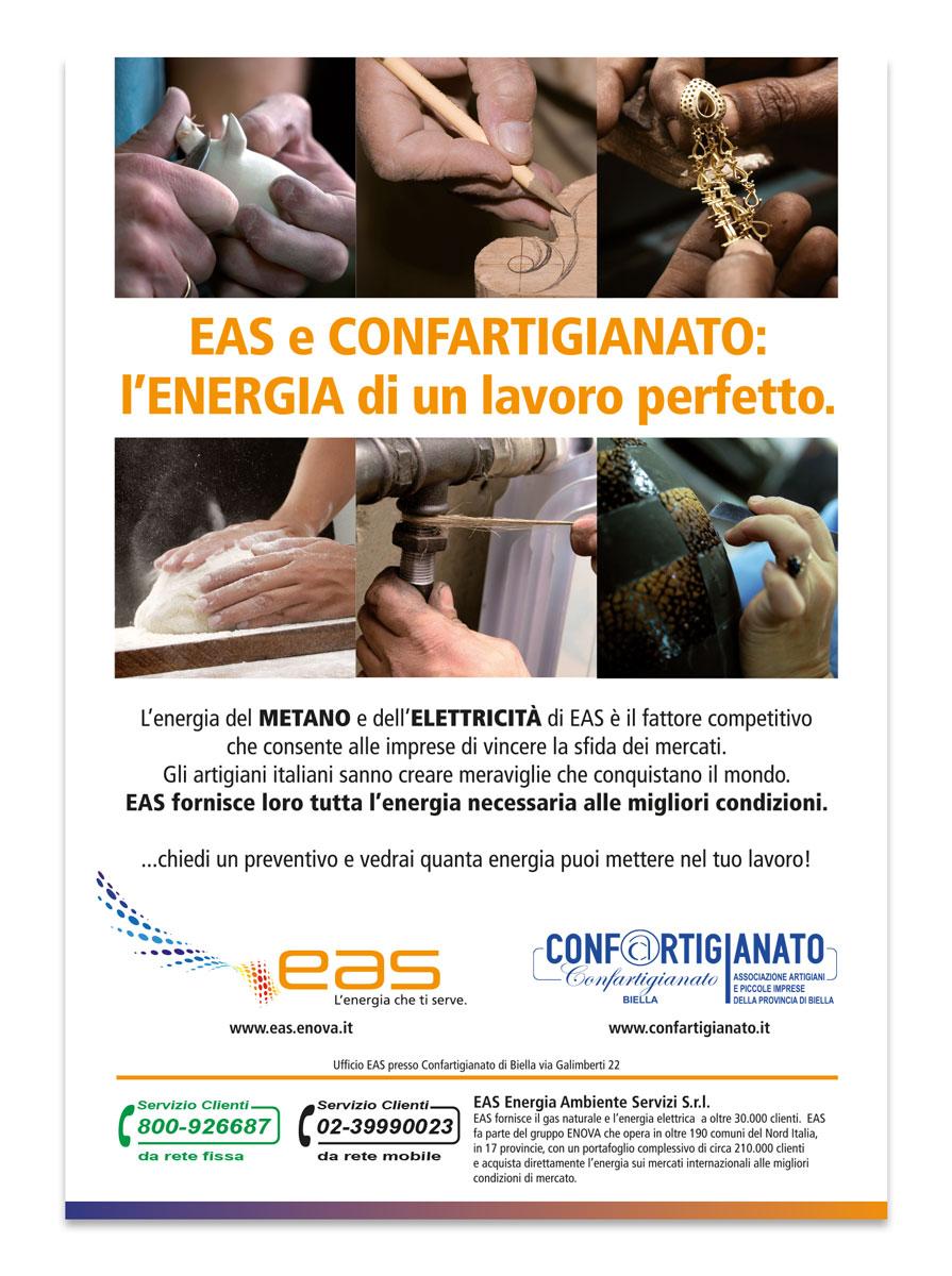 EAS | Pagina pubblicitaria