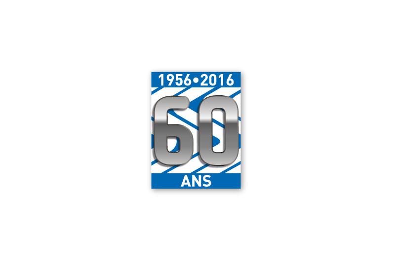 """Logo """"60 anni"""" Purflux"""