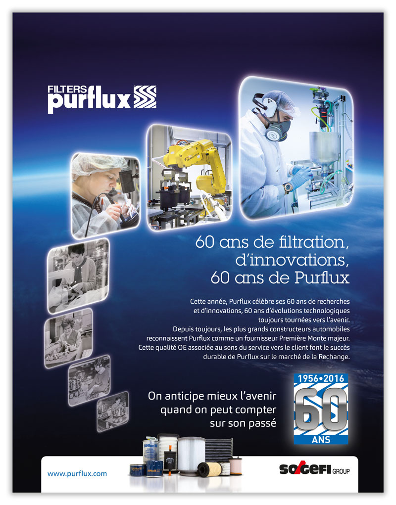 SOGEFI GROUP | Purflux 60 ans de filtration