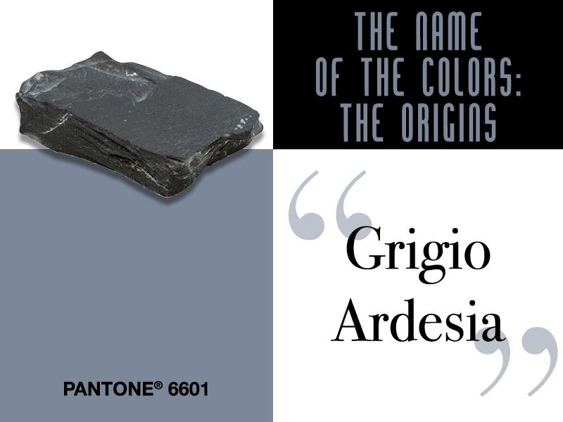 #ColoriDelMondo:<br /> le origini del Grigio Ardesia