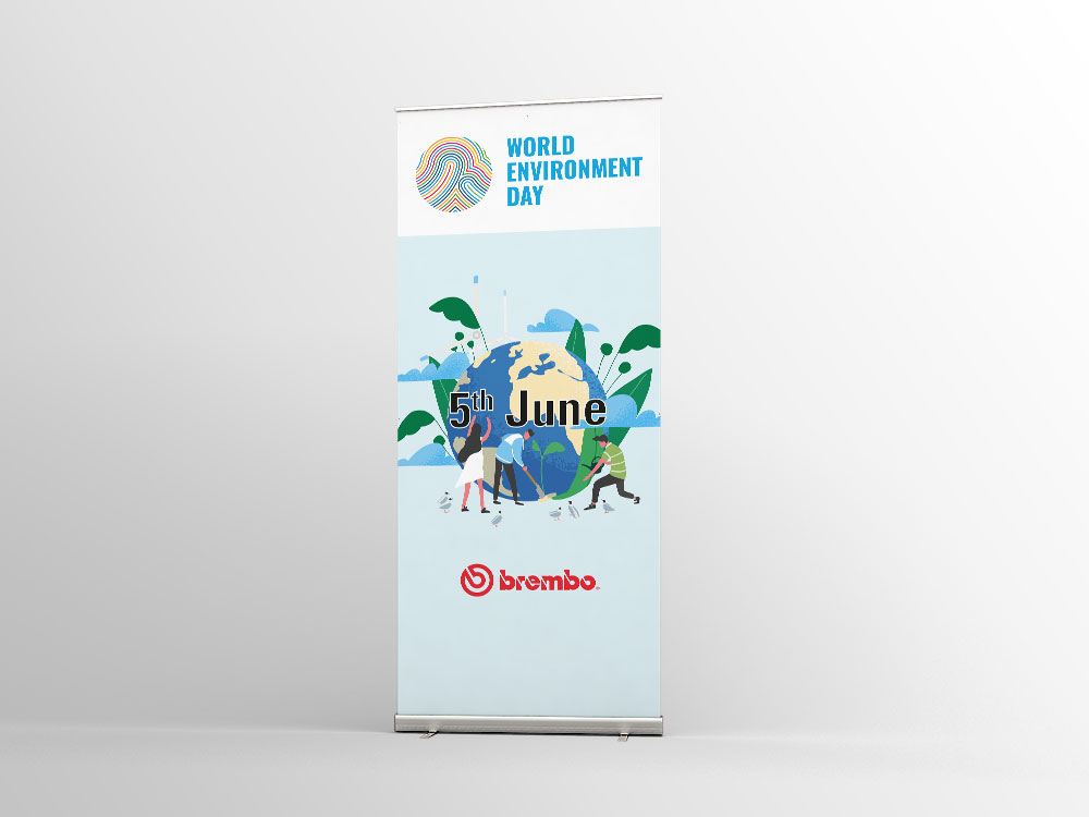 Brembo | Roll up World Environment Day