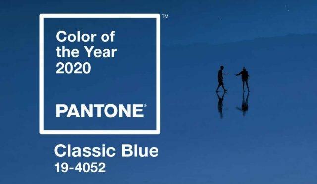 Classic Blue: colore dell'anno 2020